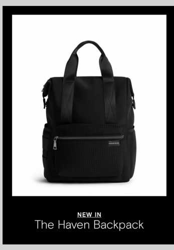 Say Hello To The Haven Backpack