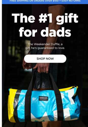 Our #1 gift for dads
