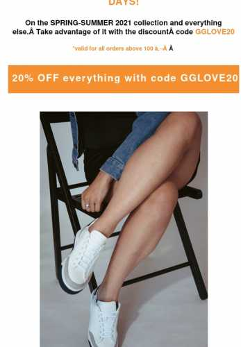 20% OFF THE ENTIRE WEBSITE