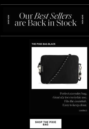 OUR BEST SELLERS ARE BACK