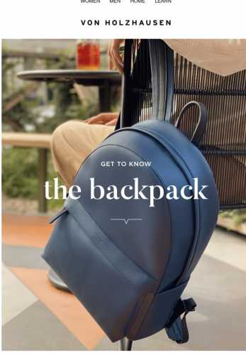 Get To Know: The Backpack
