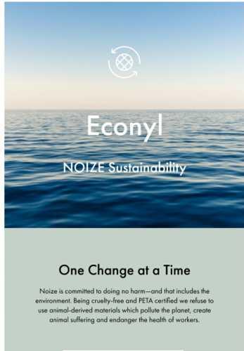 ECONYL – From nylon waste to swimwear 💙