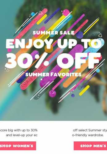 Our Summer Sale has Entered the Building