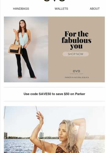 Save now on Parker