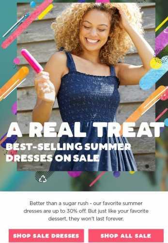 Up to 30% Off Favorite Summer Dresses