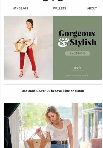 Save now on Sarah