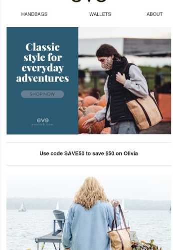 Save now on Olivia